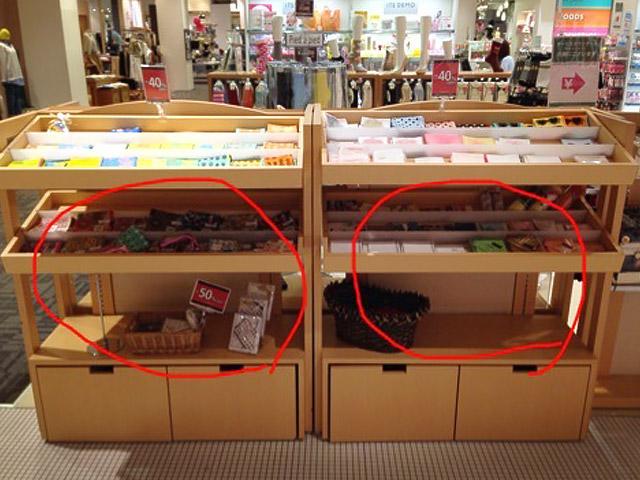 雑貨売り場 VMD事例